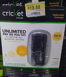 cricket samsung r211 prepaid review