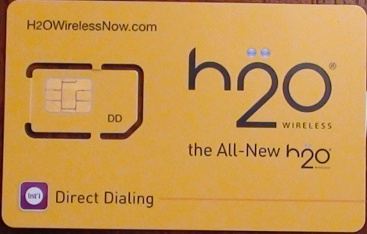 H2O Wireless Sim Card