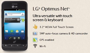 NET10 LG Optimus Net Review