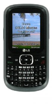 The Straight Talk LG501C Cell Phone
