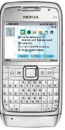 Straight Talk Nokia E71 Cell Phone Review