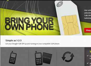 Straight Talk offers sim cards