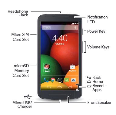Straight Talk Moto E (XT830C) Features