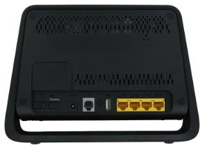 Straight Talk Huawei H350L LTE Wireless Gateway LAN RJ45 ports and rj11