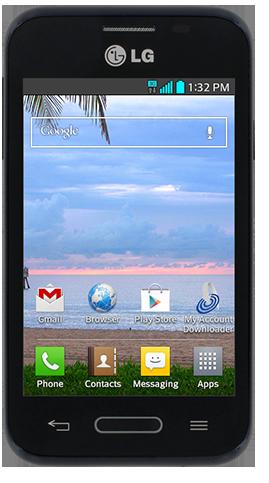 Straight Talk LG Optimus Fuel (LG-L34C)