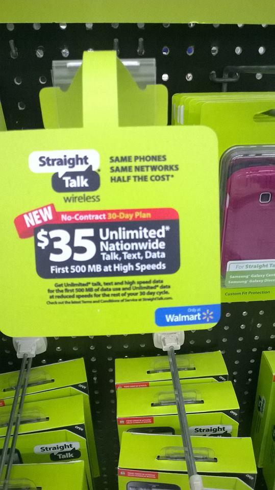 Straight Talk $35 Unlimited Plan