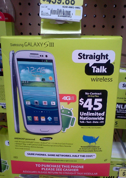 Straight Talk Samsung Galaxy S3 Review