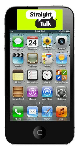 iPhone 4 Coming to Straight Talk's Phone Lineup