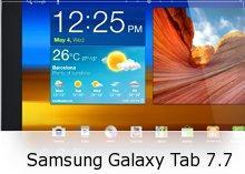 Samsung Galaxy Tab 7.7 Review