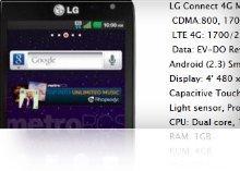 LG Connect 4G MetroPCS
