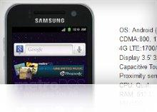Samsung Galaxy Attain Metro PCS