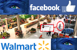 Walmart and Facebook facial recognition