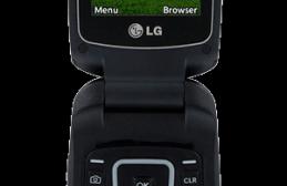Tracfone LG 441G Flip Phone
