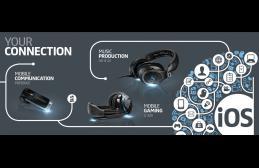 Sennheiser to Spotlight Mobile Listening and Content Creation at Macworld/iWorld 2014