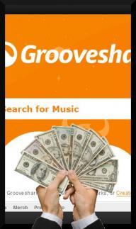Grooveshark profitable piracy