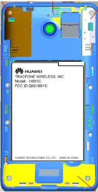 Straight Talk Huawei H881C uncovered.